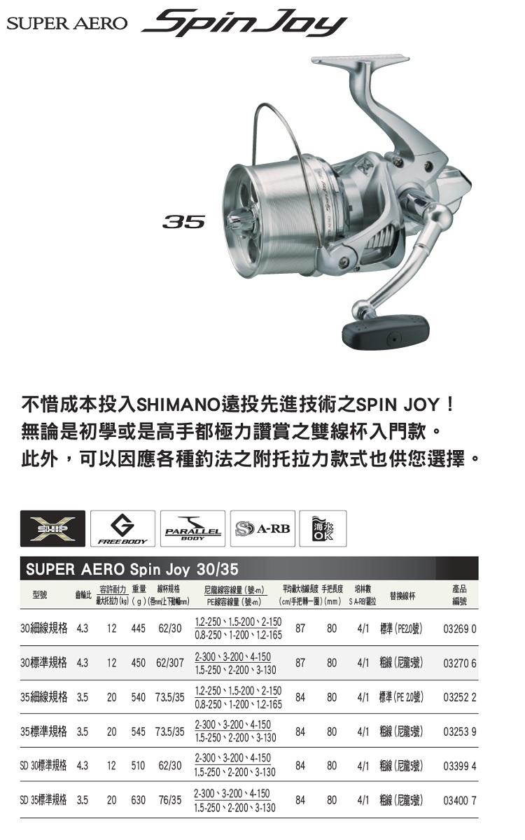 SHIMANO SUPER AERO SpinJoy